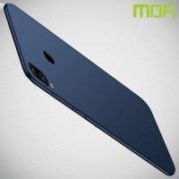 Mofi Slim Armor Матовый жесткий пластиковый чехол для Samsung Galaxy M20 - Синий