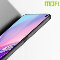 Mofi Slim Armor Матовый жесткий пластиковый чехол для Samsung Galaxy S10 - Черный
