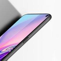 Матовый жесткий пластиковый чехол для Samsung Galaxy S10 Plus - Черный