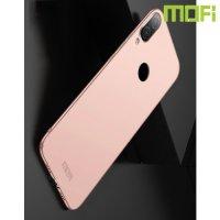 Mofi Slim Armor Матовый жесткий пластиковый чехол для Xiaomi Redmi 7 - Розовое Золото