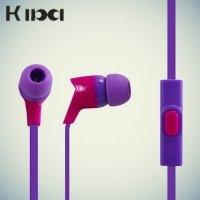 Наушники гарнитура KIBA фиолетовый