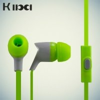 Наушники гарнитура KIBA зеленый
