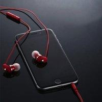 Наушники гарнитура с микрофоном Remax RM-585 Красные