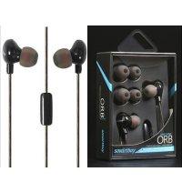 Наушники гарнитура с микрофоном Smartbuy ORB черные