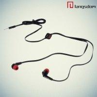 Наушники с микрофоном Langsdom JD88 - Черный