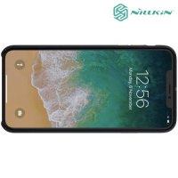 Nillkin Englon чехол накладка для iPhone XS Max - Черный