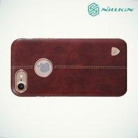 Nillkin Englon чехол накладка для iPhone 8/7 - Коричневый