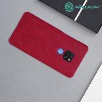NILLKIN Qin чехол флип кейс для Huawei Mate 20 - Красный