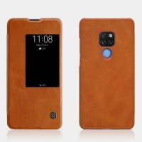 NILLKIN Qin чехол флип кейс для Huawei Mate 20 - Коричневый