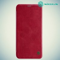 NILLKIN Qin чехол флип кейс для Huawei Mate 20 lite - Красный