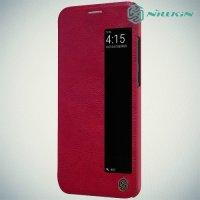 NILLKIN Qin чехол флип кейс для Huawei P20 - Красный