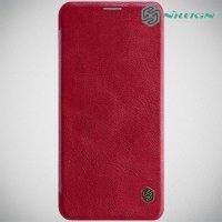 NILLKIN Qin чехол флип кейс для LG G8 ThinQ - Красный
