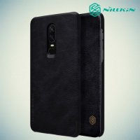NILLKIN Qin чехол флип кейс для OnePlus 6 - Черный