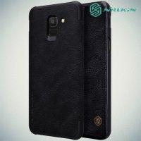 NILLKIN Qin чехол флип кейс для Samsung Galaxy J6 2018 SM-J600F - Черный