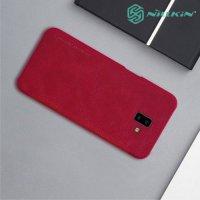 NILLKIN Qin чехол флип кейс для Samsung Galaxy J6 Plus - Красный