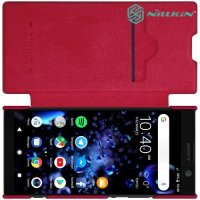 NILLKIN Qin чехол флип кейс для Sony Xperia XA2 Plus - Красный