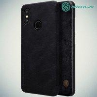 NILLKIN Qin чехол флип кейс для Xiaomi Mi 8 - Черный