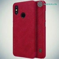 NILLKIN Qin чехол флип кейс для Xiaomi Mi 8 - Красный