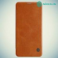 NILLKIN Qin чехол флип кейс для Xiaomi Pocophone F1 - Коричневый