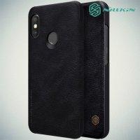 NILLKIN Qin чехол флип кейс для Xiaomi Redmi 6 Pro / Mi A2 Lite - Черный