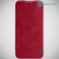 NILLKIN Qin чехол флип кейс для Xiaomi Redmi Note 7 / Note 7 Pro - Красный