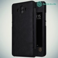 Nillkin Qin Series чехол книжка для Huawei Mate 10 - Черный