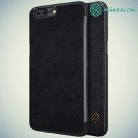 Nillkin Qin Series чехол книжка для OnePlus 5 - Черный