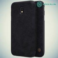 Nillkin Qin Series чехол книжка для Samsung Galaxy J3 2017 SM-J330F - Черный