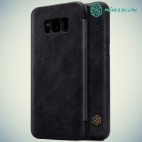 Nillkin Qin Series чехол книжка для Samsung Galaxy S8 Plus - Черный