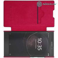 Nillkin Qin Series чехол книжка для Sony Xperia L2 - Красный