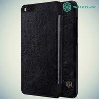 Nillkin Qin Series чехол книжка для Xiaomi Mi 6 - Черный