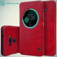 Nillkin Qin Series чехол книжка для Asus Zenfone 3 ZE552KL - Красный