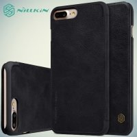 Nillkin Qin Series чехол книжка для iPhone 8 Plus / 7 Plus - Черный