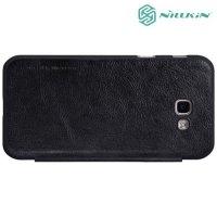 Nillkin Qin Series чехол книжка для Samsung Galaxy A3 2017 SM-A320F - Черный