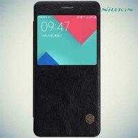 Nillkin Qin Series чехол книжка для Samsung Galaxy A5 2016 SM-A510F - Черный