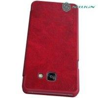 Nillkin Qin Series чехол книжка для Samsung Galaxy A5 2016 SM-A510F - Красный