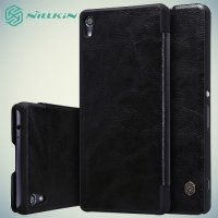 Nillkin Qin Series чехол книжка для Sony Xperia XA Ultra - Черный