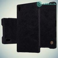 Nillkin Qin Series чехол книжка для Sony Xperia Z5 Premium - Черный