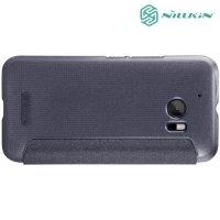 Nillkin с умным окном чехол книжка для HTC 10 / 10 Lifestyle - Sparkle Case Серый