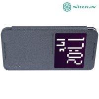 Nillkin с умным окном чехол книжка для HTC One X9 - Sparkle Case Черный