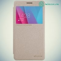 Nillkin с умным окном чехол книжка для Huawei Honor 5X - Sparkle Case Золотой