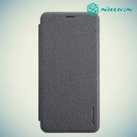 Nillkin Sparkle флип чехол книжка для Huawei Honor 7C Pro - Серый