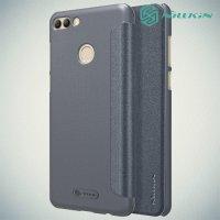 Nillkin Sparkle флип чехол книжка для Huawei Y9 2018 - Серый