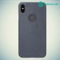 Nillkin Sparkle флип чехол книжка для iPhone XS Max - Серый