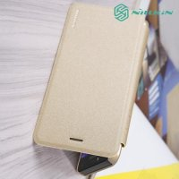 Nillkin Sparkle флип чехол книжка для Samsung Galaxy J4 2018 SM-J400F - Золотой