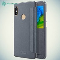Nillkin Sparkle флип чехол книжка для Xiaomi Mi 6x / Mi A2 - Серый