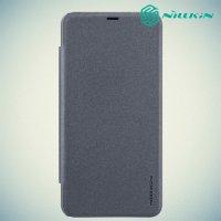 Nillkin Sparkle флип чехол книжка для Xiaomi Pocophone F1 - Серый