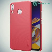NILLKIN Super Frosted Shield Клип кейс накладка для Asus Zenfone Max Pro M2 ZB631KL - Красный