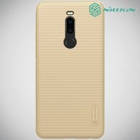 NILLKIN Super Frosted Shield Клип кейс накладка для Meizu Note 8 - Золотой