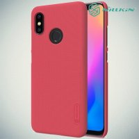 NILLKIN Super Frosted Shield Клип кейс накладка для Xiaomi Mi 8 - Красный